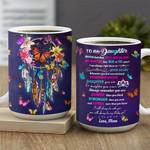 My Daughter Butterfly Dreamcatcher KD2 MAL0102009Z Full Color Ceramic Mug