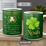 Personalized Irish Shamrock BGZ2801002Z Full Color Ceramic Mug
