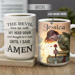Personalized Faith Warrior BGZ0202004Z Full Color Ceramic Mug