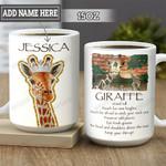 Personalized Giraffe Advice HLM0202006Z Full Color Ceramic Mug