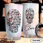 Bicycle Sugar Skull Personalized THA2610035 Stainless Steel Tumbler
