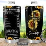 Faith Fact Personalized PYR1111009 Stainless Steel Tumbler