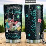 Crocheting Personalized DNR1612009 Stainless Steel Tumbler