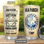 Barber Personalized HHA2310012 Stainless Steel Tumbler