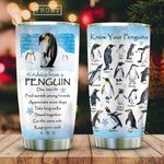Know Your Penguins KD2 HAL1111009 Stainless Steel Tumbler