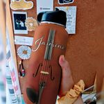 Violin Facts Personalized DNR2910019 Stainless Steel Bottle With Straw Lid