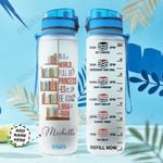 Librarian Personalized HTR2210018 Water Tracker Bottle