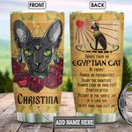Egyptian Cat Advice Personalized KD2 BGM2312004 Stainless Steel Tumbler