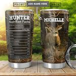 Hunter Facts Personalized HHR2212019 Stainless Steel Tumbler