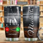 Volleyball Calling Personalized MDA0411014 Stainless Steel Tumbler