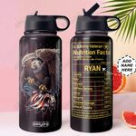 Veteran Facts Personalized MDA2010033 Stainless Steel Tumbler