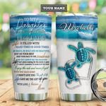 Daughter Turlte Personalized MDA2110022 Stainless Steel Tumbler