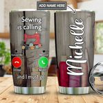 Sewing Calling Personalized MDA1311030 Stainless Steel Tumbler
