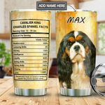 CKC Spainel Facts Personalized MDA2010027 Stainless Steel Tumbler
