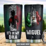 Personalized Mexican Boxing HLZ2710013 Stainless Steel Tumbler