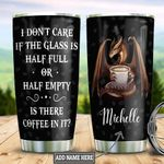 Personalized Dragon Coffee Lover HHZ1111009 Stainless Steel Tumbler