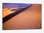 Gypsum Sand Dunes In The Evening Light, White Sands National Monument, New Mexico