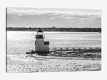 Usa, New England, Massachusetts, Nantucket Island, Nantucket Town, Brnt Point Lighthouse From Nantucket Ferry