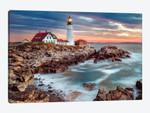 Cape Elizabeth Stormy Sunrise ,Portland Maine New England