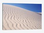 USA, California, Death Valley National Park. Sand dune patterns at Eureka Sand Dunes.