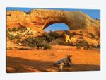 Wilson Arch With A Span Of 91 Feet And Height Of 46 Feet, Off Of Highway 191, Made Of Entrada Sandstone, Utah II