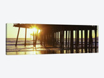 Silhouette Of Pismo Pier At Dusk, Pismo Beach, San Luis Obispo County, California, USA II