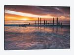 Ocean Jetty Sunset
