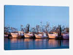 Fulton Harbor and oyster boats