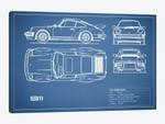1977 Porsche 911 Turbo (930) (Blue)