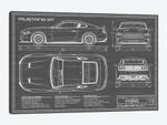 Mustang GT (2018-2020) Black