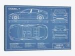 Tesla Model 3 (Long Range RWD) Blueprint