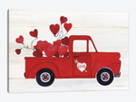 Rustic Valentine Truck
