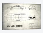 1965 Ferrari Dino Berlinetta 206 (Vintage Silver)