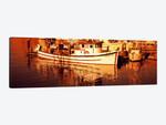 Fishing boats in the bay, Morro Bay, San Luis Obispo County, California, USA