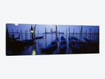 Moored Gondolas, Grand Canal, Venice, Italy