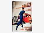 Fiat Balilla Vintage Automobile Advertisement