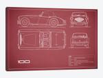 Austin-Healey 100 (Maroon)