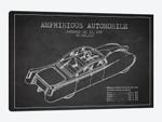 Amphibious Automobile Patent Sketch (Charcoal) I