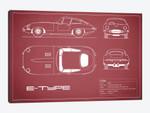 Jaguar E-Type Series 1 Coupe (Maroon)