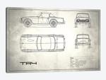 Triumph TR4 (Vintage Silver)