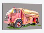 Painterly Firetruck