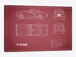 Triumph TR2 (Maroon)