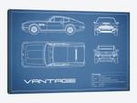 Aston Martin V8 Vantage (Blue)