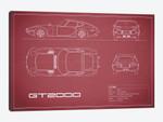 Toyota 2000GT (Maroon)