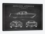 Amphibious Automobile Patent Sketch (Charcoal) II