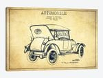 Charles W. McKinley Automobile Patent Sketch (Vintage)