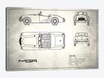 MG MGA Mark I (Vintage Silver)