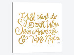 Drink Wine Save Animals Take Naps