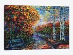 Impressionist Autumn Park