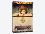 Advertisement for the Phanomen car, 1907-27